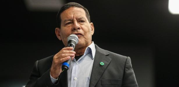 O general da reserva Hamilton Mourão, vice na chapa do candidato de Bolsonaro