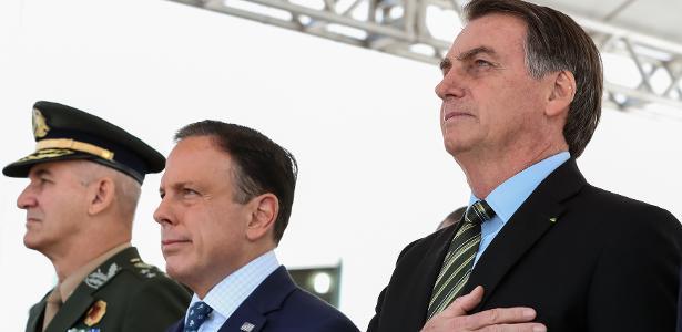 Doria sobre insulto de Bolsonaro a repórter: 'Desrespeitável e condenável'