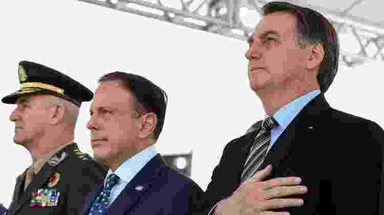 João Doria e Jair Bolsonaro - Marcos Corrêa/PR - Marcos Corrêa/PR