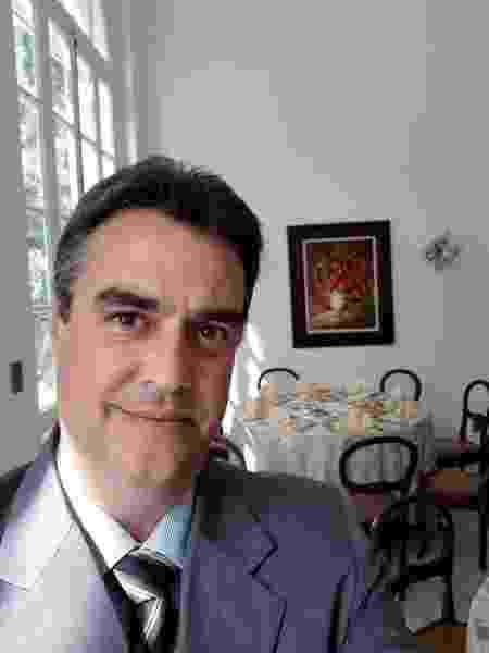 O monarquista André Martins de Oliveira, 46 - Arquivo Pessoal