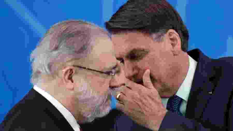 Aras esteve com Bolsonaro seis vezes desde que assumiu - Reuters