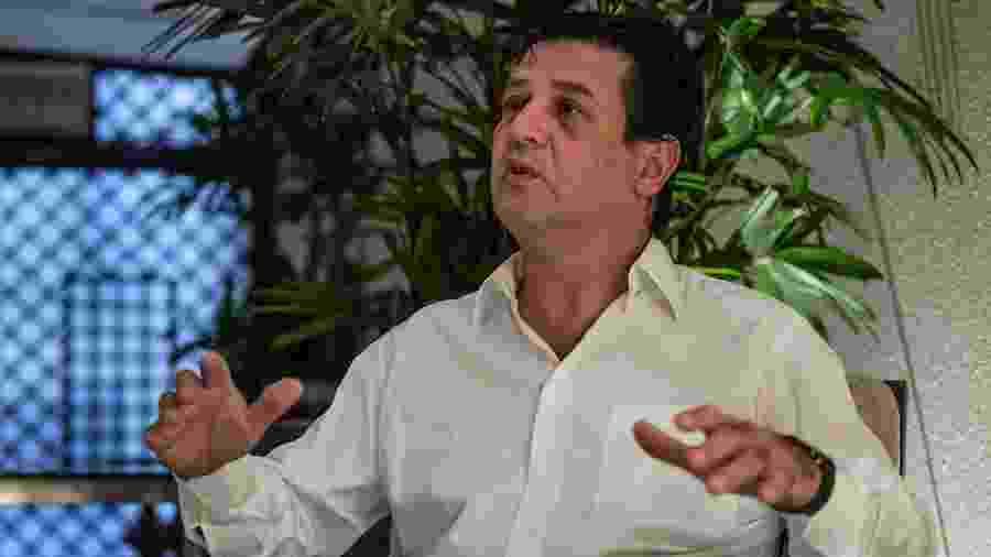"""Mandetta chamou de """"decepcionante"""" a militarização da pasta em meio ao avanço do novo coronavírus - Nelson Almeida/AFP"""