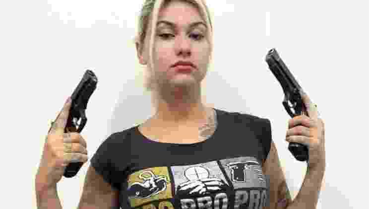 LSN foi evocada no caso da prisão da ativista de direita Sara Winter, que está sendo investigada por ações em conjunto com seu grupo '300' - Instagram/Sara Winter - Instagram/Sara Winter