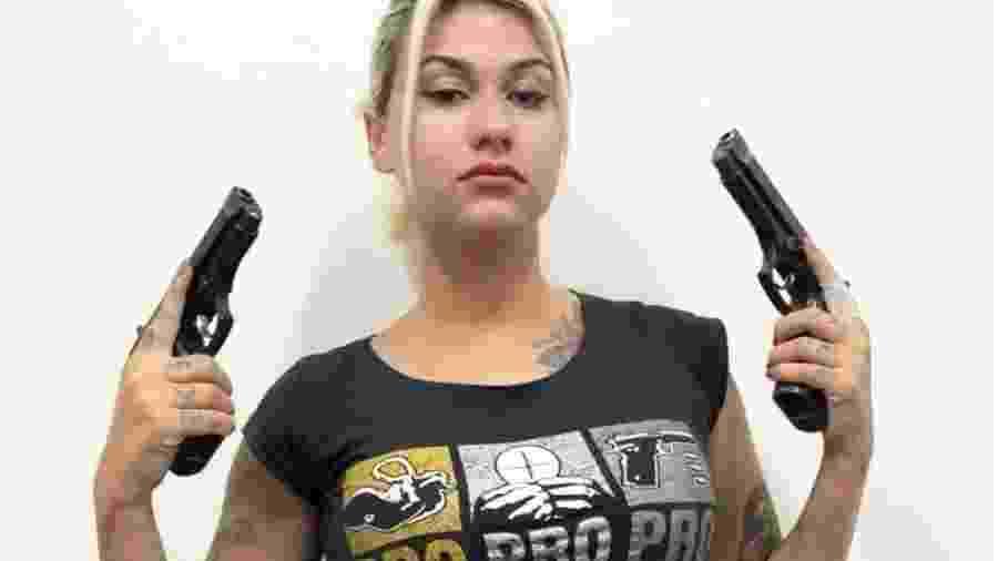 """LSN foi evocada no caso da prisão da ativista de direita Sara Winter, que está sendo investigada por ações em conjunto com seu grupo """"300"""" - Instagram/Sara Winter"""