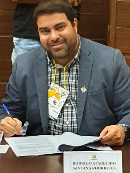 O prefeito de Santo Antônio do Aracanguá, Rodrigo Aparecido Santana Rodrigues, de 35 anos, morreu hoje vítima de covid-19 - Divulgação/Prefeitura de Santo Antônio do Aracanguá
