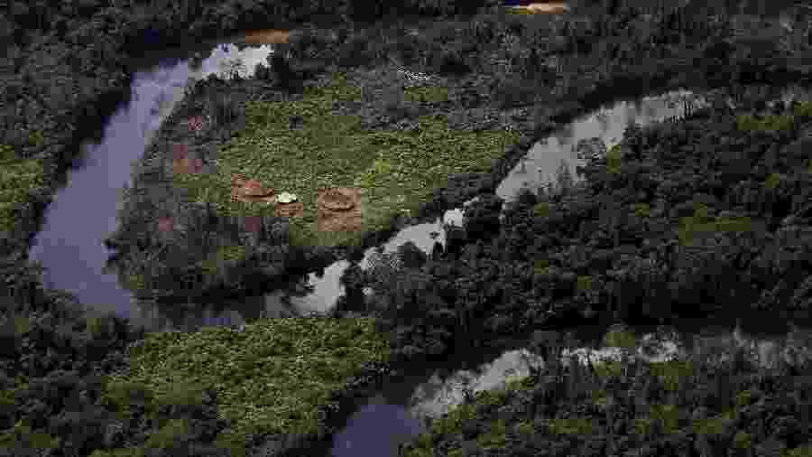 Reserva indígena ianomâmi, no coração da floresta amazônica - REUTERS/Bruno Kelly/