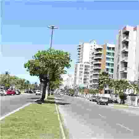 Avenida Soares Lopes, em Ilhéus (BA) - Divulgação/Prefeitura de Ilhéus  - Divulgação/Prefeitura de Ilhéus