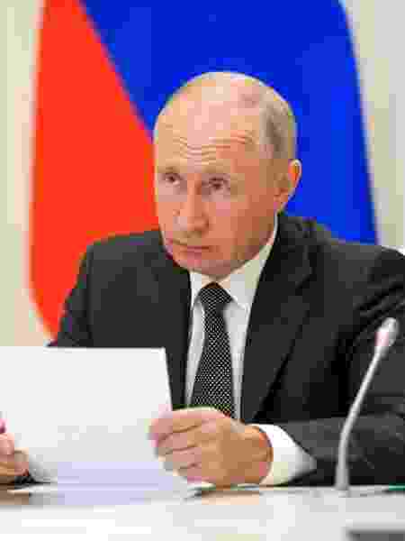 O presidente da Rússia, Vladimir Putin - Alexei Druzhinin/TASS via Getty Images