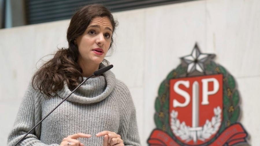 A deputada estadual Marina Helou (Rede-SP) lançou hoje sua candidatura à prefeitura de São Paulo - Reprodução/Facebook/eusouhelou