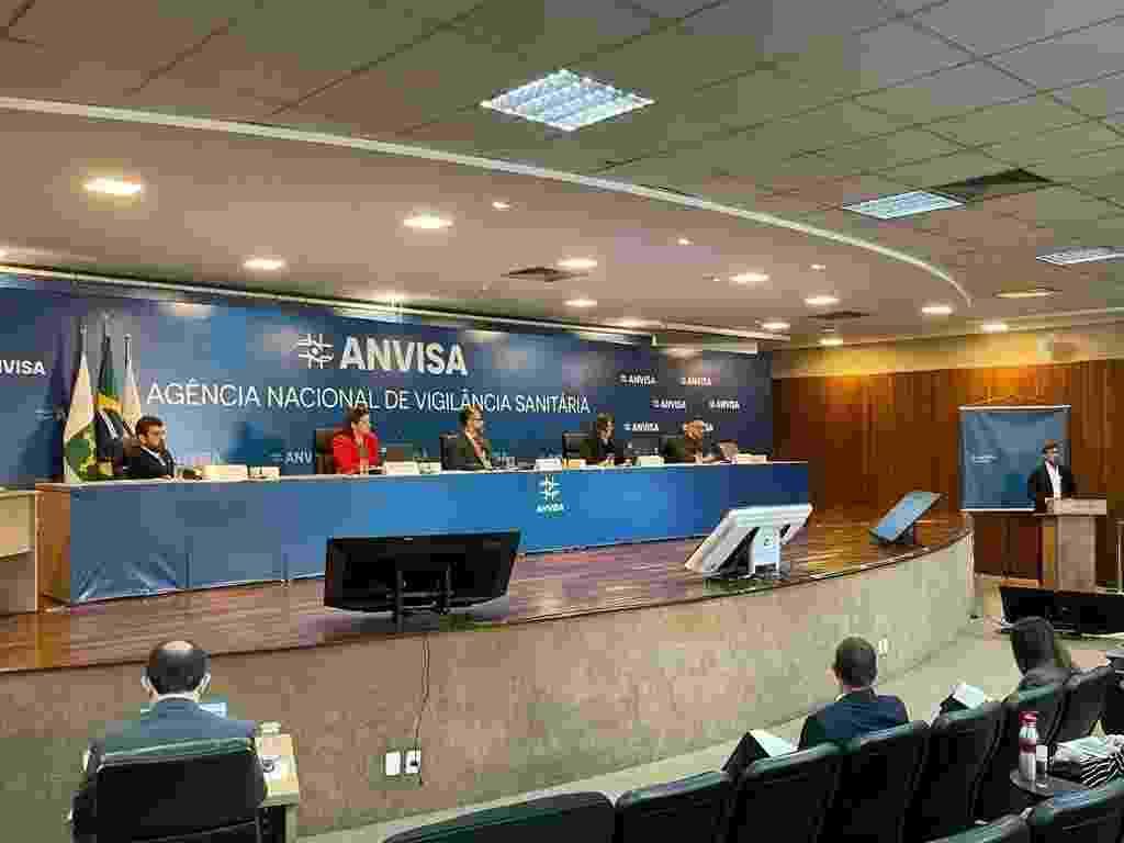 Membros da Anvisa estão reunidos para definir se autorizam o uso emergencial das primeiras vacinas contra covid-19 no Brasil - Divulgação/Anvisa