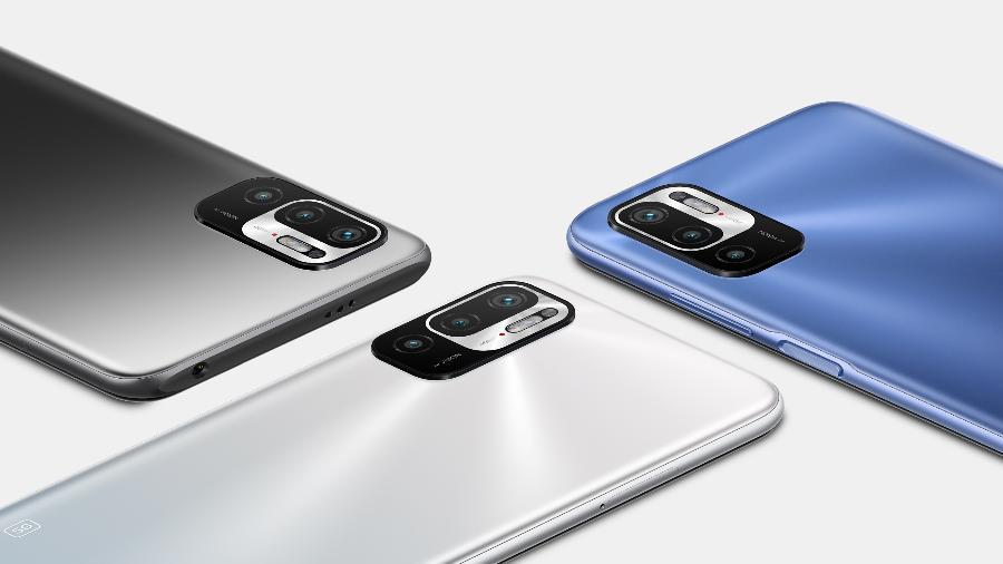 Redmi Note 10 5G - Xiaomi/divulgação