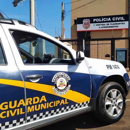 Caso foi registrado no plantão policial como invasão de propriedade - Divulgação/ Guarda Civil Municipal