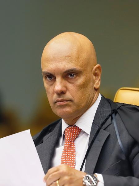 """Alexandre de Moraes: """"trato"""" com Bolsonaro  - Rosinei Coutinho/SCO/STF"""