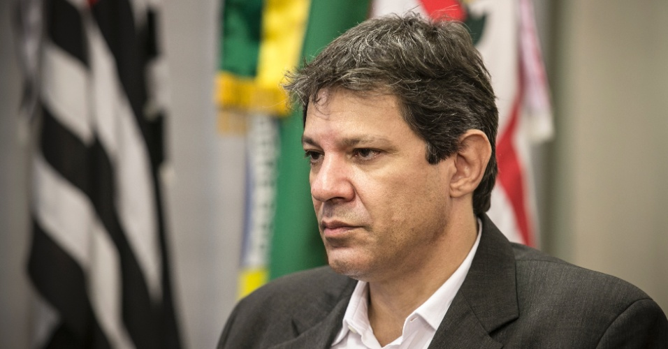 19.fev.2016 - Para Haddad, houve problemas na condução da política econômica no segundo mandato de Dilma Roussef