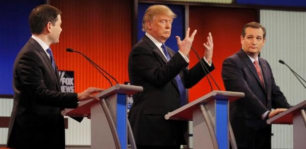 Trump defende uso de tortura e restrição a imigração após ataques em Bruxelas - Jim Young/Reuters