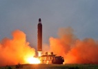 Fracassa novo teste de míssil da Coreia do Norte, afirma Seul (Foto: KCNA/ Reuters)