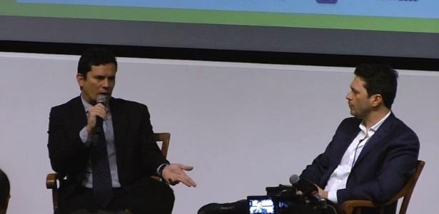 Sérgio Moro é entrevistado pelo juiz federal Erik Navarro em Harvard