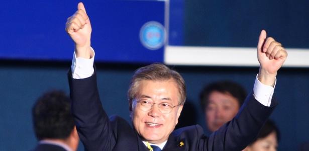 Moon Jae-in é o presidente da Coreia do Sul