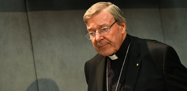 O cardeal australiano Geroge Pell