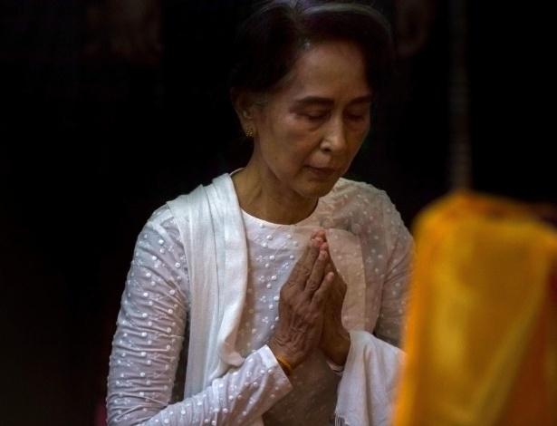 A líder de Mianmar, Aung San Suu Kyi