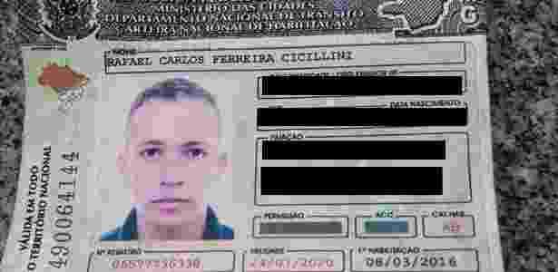 Rafael Cicillini, de 21 anos, adquiriu a CNH na cidade de Passos, em Minas Gerais - Divulgação/PM