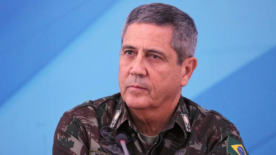 O general Walter Braga Netto - Fátima Meira/Estadão Conteúdo -