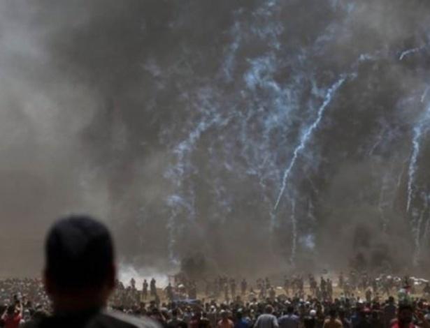 Confronto na Faixa de Gaza deixou mais de 50 mortos e milhares de feridos