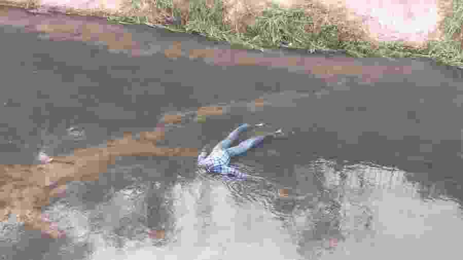 Boneco encontrado em rio na cidade de Jundiaí (SP) - Arquivo pessoal