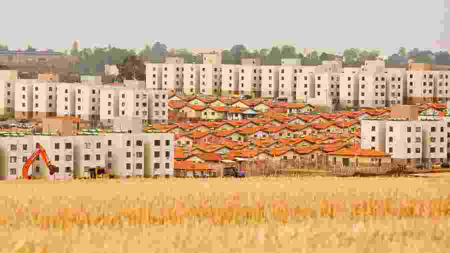 Minha Casa Minha Vida foi substituído pelo Casa Verde e Amarela, lançado ontem pelo governo - Eduardo Anizelli/Folhapress
