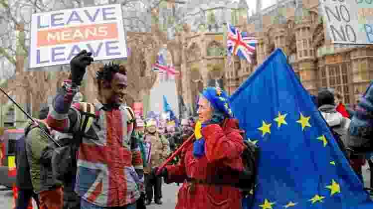 O Brexit tem dominado há três anos a política do Reino Unido - Getty Images - Getty Images