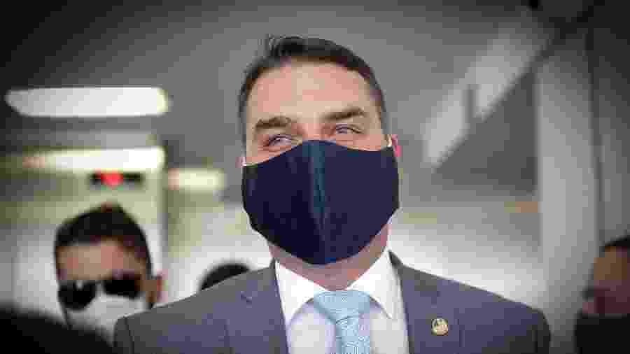 Flávio Bolsonaro (Republicanos-RJ) tem julgamento de recurso adiado - Dida Sampaio/Estadão Conteúdo