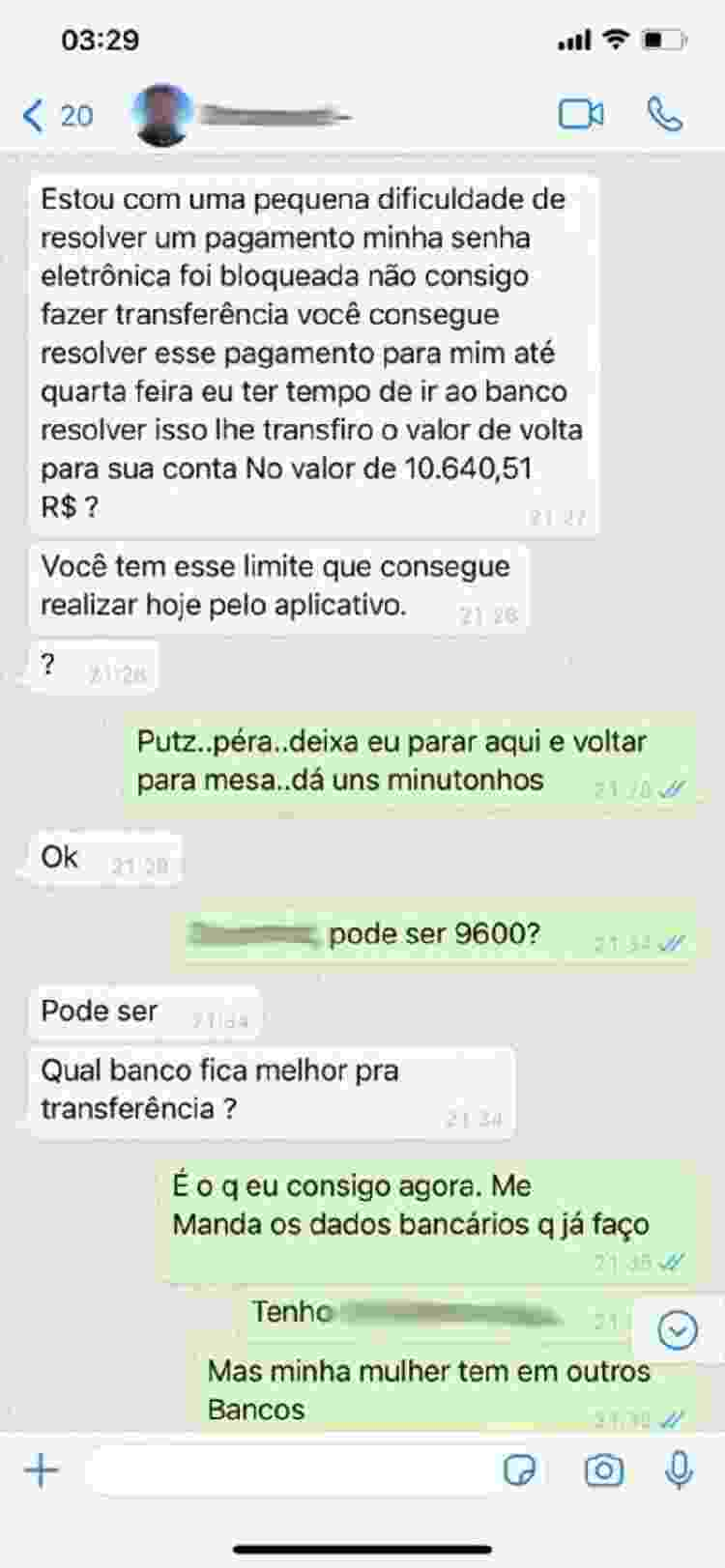 Golpe do WhatsApp (1) - Reprodução/Tudo Golpe - Reprodução/Tudo Golpe