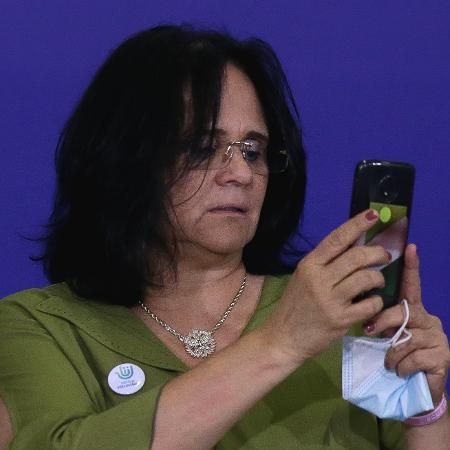 A ministra Damares Alves - Pedro Ladeira/Folhapress - 9.nov.2020