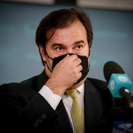 Rodrigo Maia (DEM-RJ), ex-presidente da Câmara - Wallace Martins/Futura Press/Estadão Conteúdo