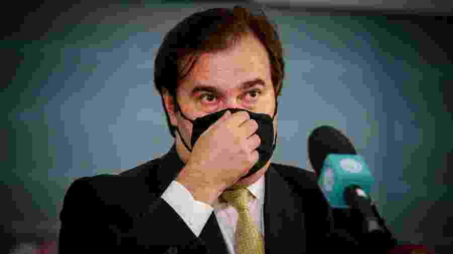 Rodrigo Maia (DEM-RJ) citou o filho de Maguito, Daniel - Wallace Martins/Futura Press/Estadão Conteúdo