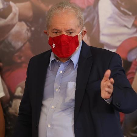 O ex-presidente Luiz Inácio Lula da Silva (PT) - 10.mar.2021 - Marcelo D. Sants/Framephoto/Estadão Conteúdo
