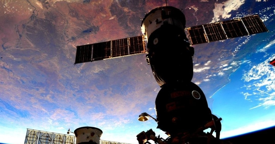 9.set.2015 - Scott Kelly, astronauta da Nasa (Agência Espacial Norte Americana), divulgou uma foto da Austrália vista da Estação Espacial Internacional (ISS, na sigla em inglês)