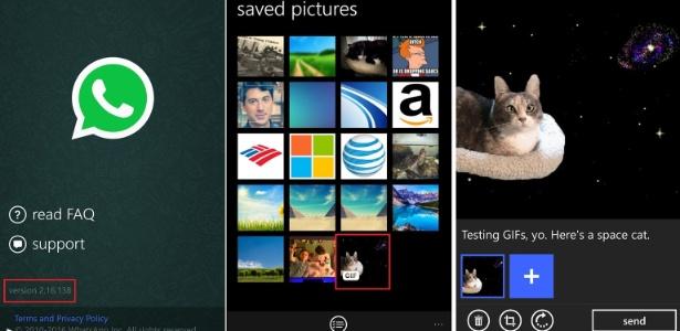 WhatsApp para Windows Phone começa a testar GIFs - Reproduçao/Windows Central