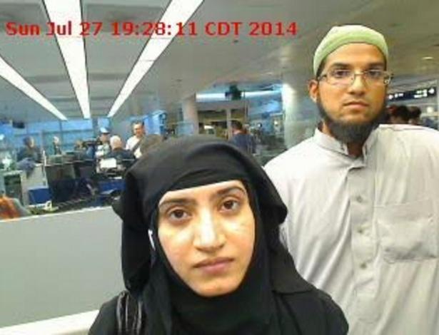 Tashfeen Malik e Syed Rizwan Farook, terroristas de San Bernardino