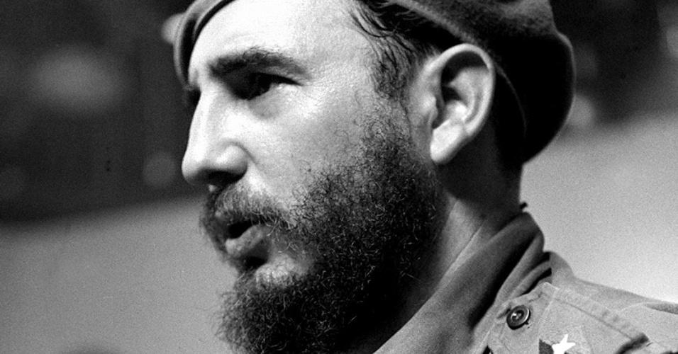 12.ago.2104 - Imagem de arquivo mostra Fidel Castro, líder da Revolução Cubana