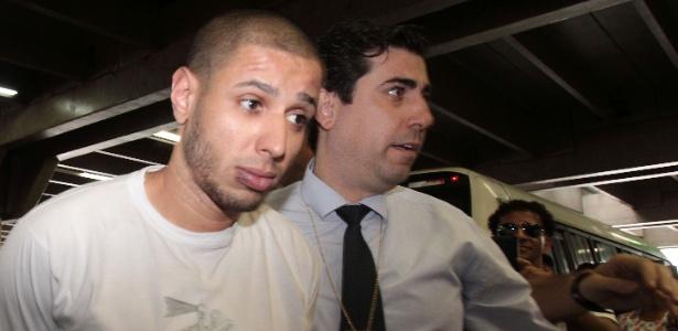 Alípio Rogério dos Santos, suspeito de espancar até a morte um ambulante no metrô de São Paulo no Natal, foi preso na última quarta