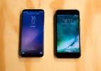 iPhone 7 Plus x Galaxy S8+: qual celular poderoso (e caro) é o melhor? (Foto: Vinicius Andrade/UOL)