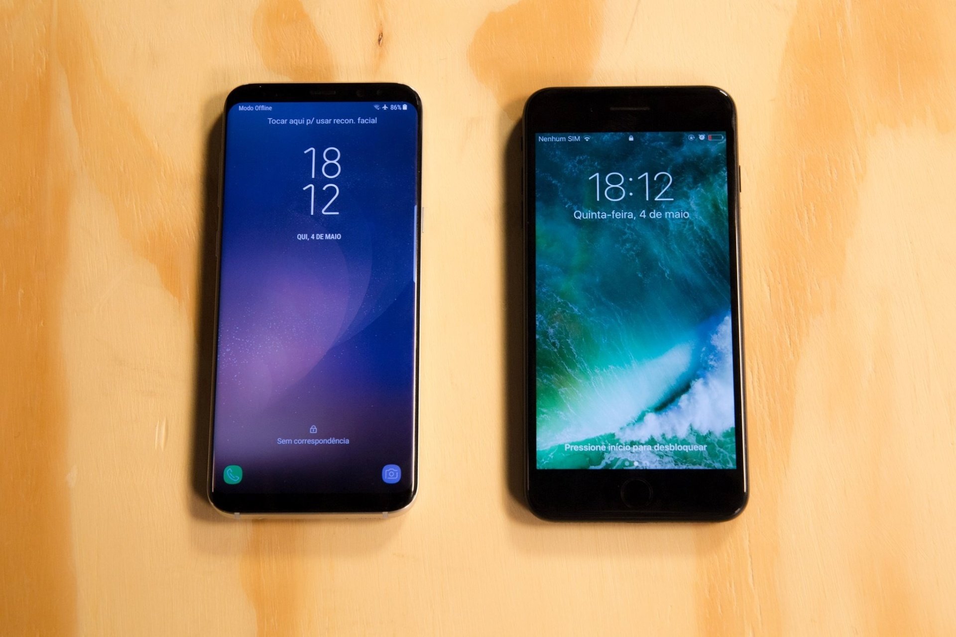 Bataria Iphone 7s Vs Android