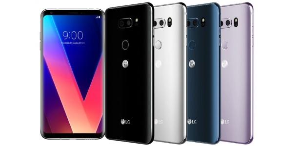 Versão do LG V30 apresentado em 2017