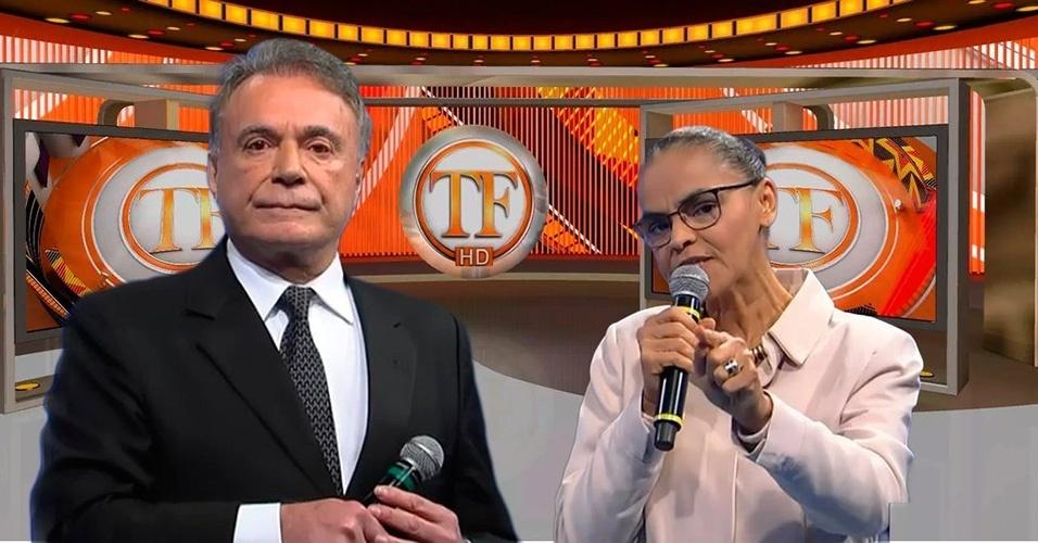 Meme Alvaro Dias e Marina Silva debate RedeTV!
