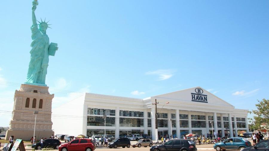"""fachada de uma loja da """"Havan"""" - Divulgação"""