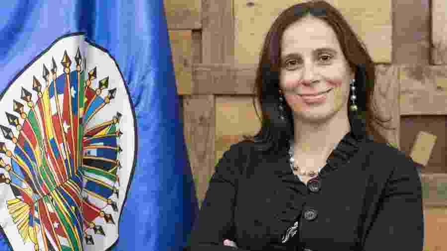 A chilena Antonia Urrejola Noguera, relatora para o Brasil na Comissão Interamericana de Direitos Humanos - Divulgação/CIDH OEA