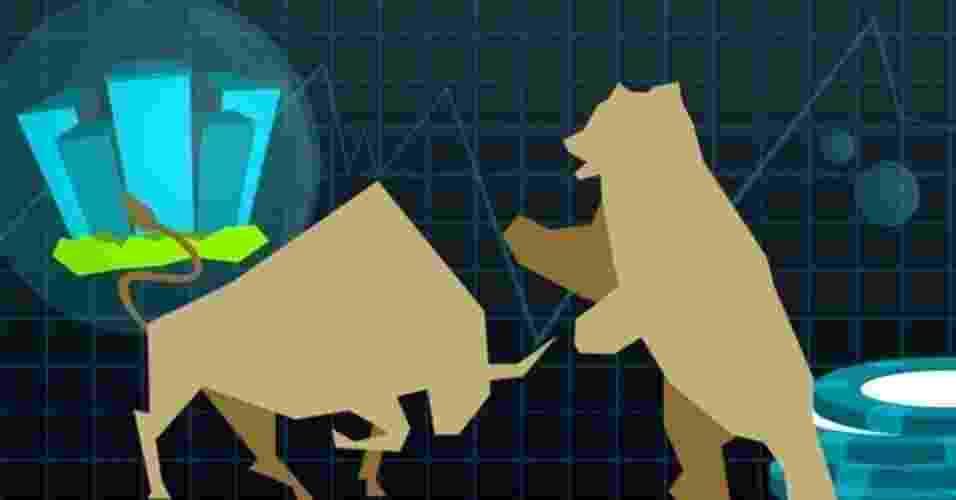 chamadas gírias e jargões do mercado financeiro - Arte UOL
