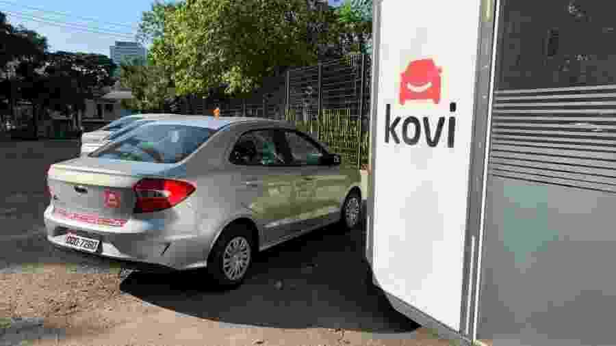 Sem frota própria, a Kovi tem parceria com montadoras e locadoras - Divulgação