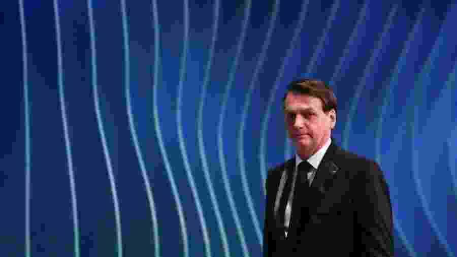 Presidente Jair Bolsonaro anunciou desfiliação do PSL e diz que pretende fundar o próprio partido - Reuters